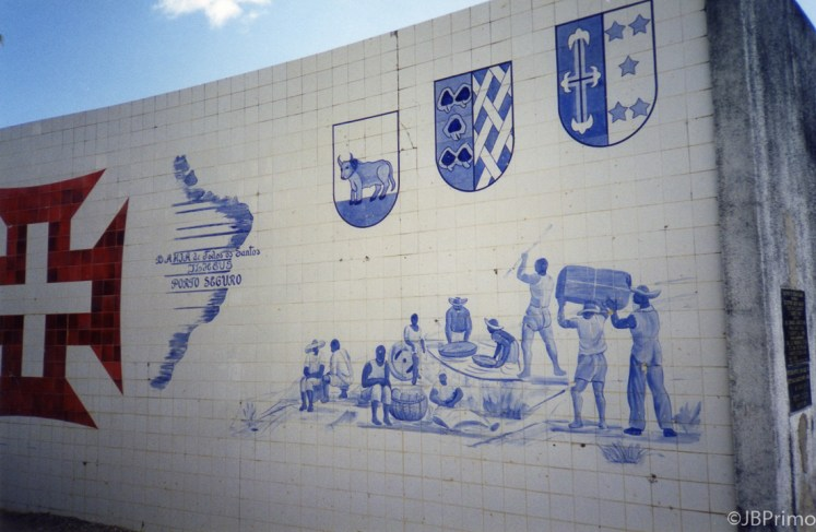 Brasil - Bahia - Porto Seguro - Cidade Historica - Painel do Descobrimento