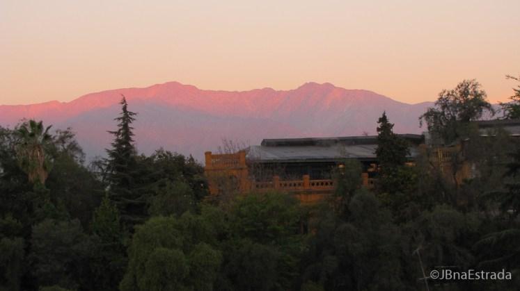 Chile - Santiago - Cerro Santa Lucia (Vista Hotel)