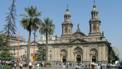 Chile - Santiago - Plaza de Armas - Catedral Metropolitana (Centro Histórico)