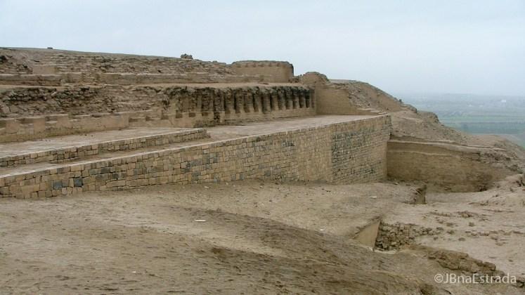 Peru - Museo de Sitio Pachacamac - Templo del Sol