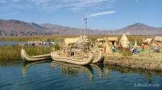 Peru - Puno - Lago Titicaca - Passeio as Ilhas Flutuantes de Uros