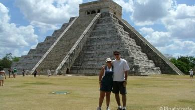 Mexico - Chichen Itza - Castillo (Civilizações Asteca e Maia)