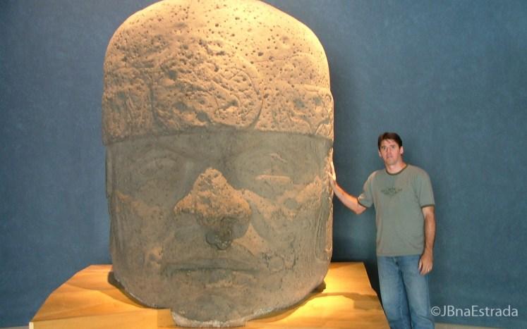 Mexico - Cidade do Mexico - Bosque de Chapultepec - Museo Nacional de Antropologia - Sala de las Culturas del Golfo