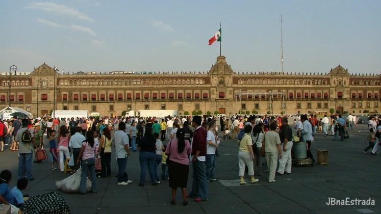 Mexico - Cidade do Mexico - Zocalo