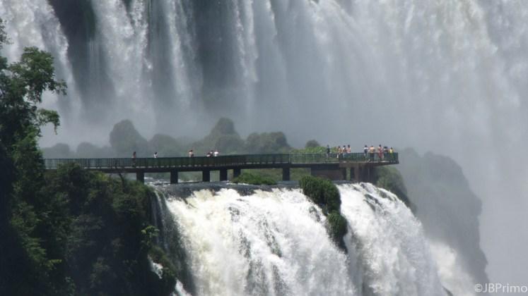 Argentina - Cataratas do Iguacu - Plataforma do Lado Brasileiro