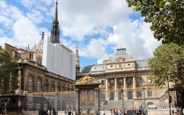 Franca - Paris - Sainte-Chapelle e Palacio da Justiça