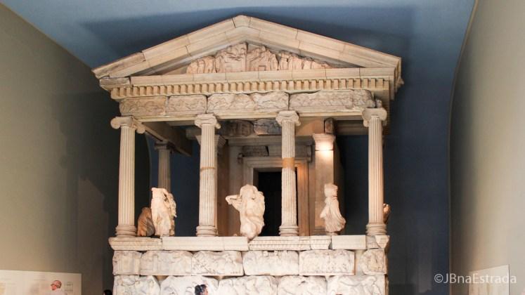 Inglaterra - Londres - Museu Britanico - Parthenon