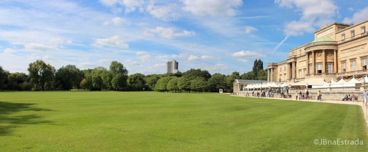 Inglaterra - Londres - Palacio de Buckingham - Vista dos Jardins