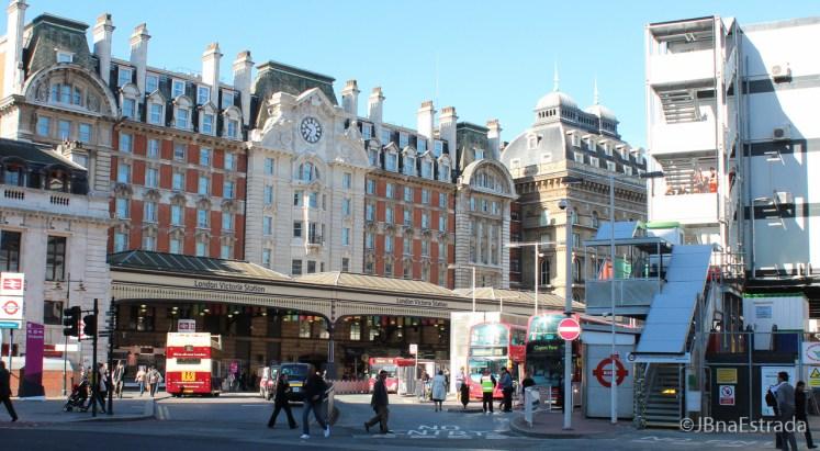 Inglaterra - Londres - Victoria Station
