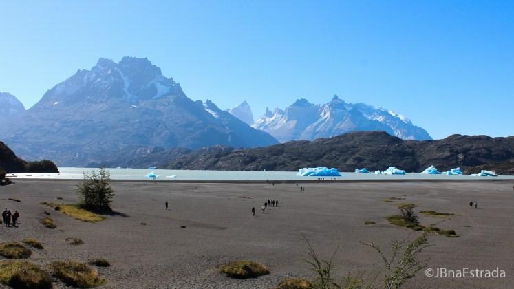 Chile - Parque Nacional Torres del Paine - Lago Grey