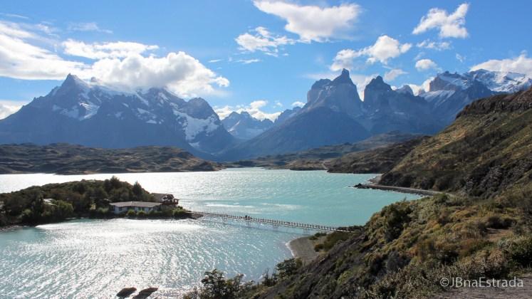 Chile - Parque Nacional Torres del Paine - Mirador Condor - Lago Pehoe