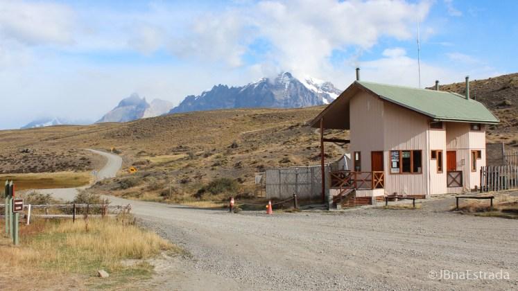 Chile - Parque Nacional Torres del Paine - Portaria Sarmiento