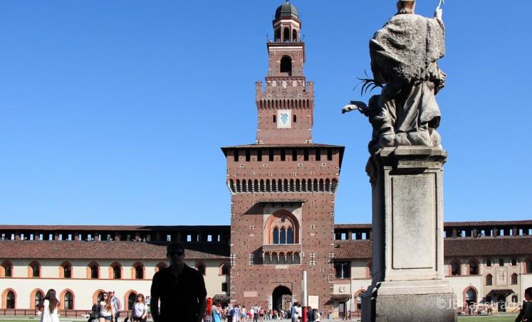 Italia - Milao - Castello Sforzesco