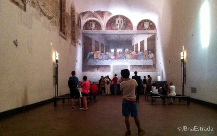 Italia - Milao - Igreja Santa Maria delle Grazie - Cenaculo Vinciano