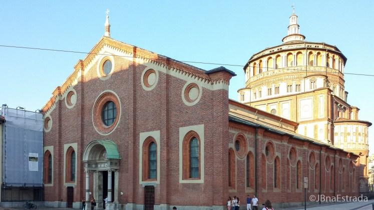 Italia - Milao - Igreja Santa Maria delle Grazie