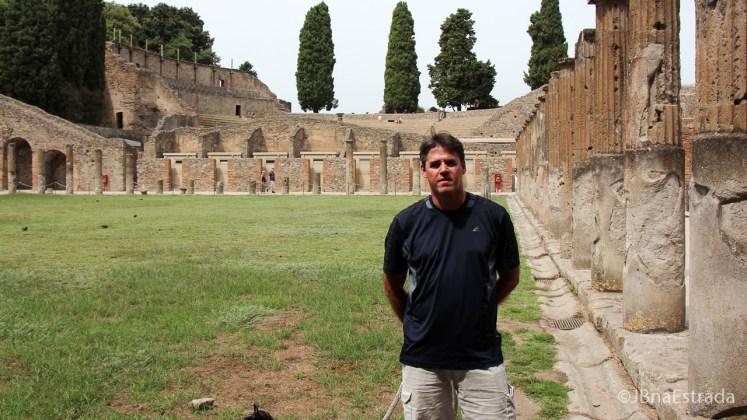 Italia - Pompeia - Quartel dos Gladiadores