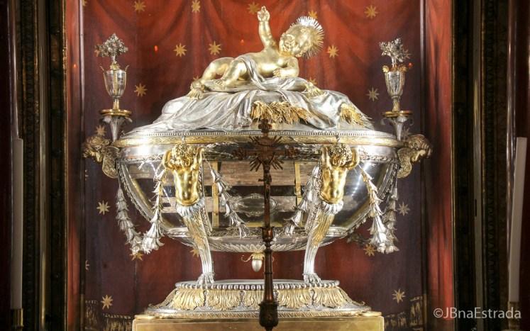 Italia - Roma - Basilica de Santa Maria Maggiore - Relicario do Santo Berco