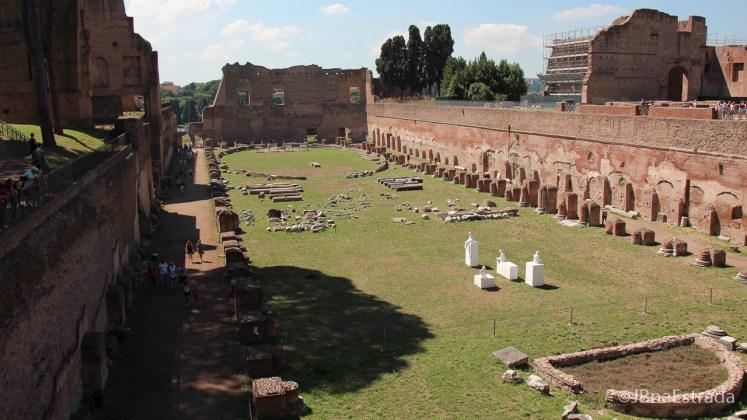 Italia - Roma - Palatino - Hipodromo de Domiciano