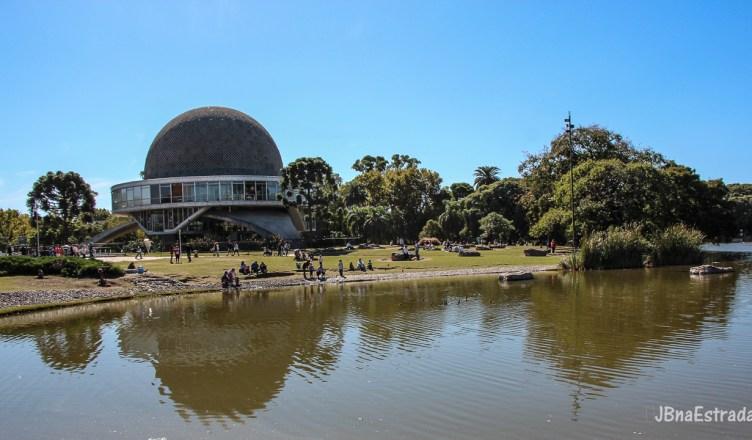 Argentina - Buenos Aires - Bosques de Palermo - Planetario Galileo Galilei