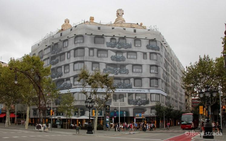 Espanha - Barcelona - Casa Mila - La Pedrera