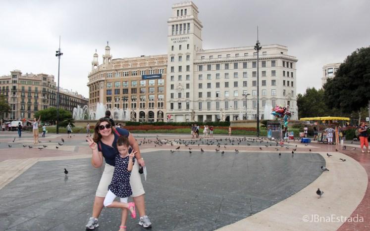 Espanha - Barcelona - Placa de Catalunya