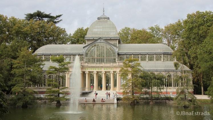 Espanha - Madri - Parque del Retiro - Palacio de Cristal