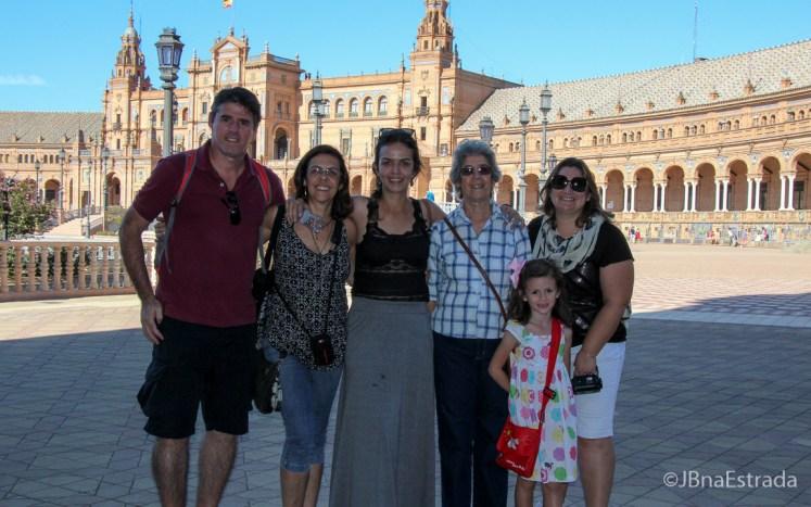 Espanha - Sevilha - Plaza de Espana