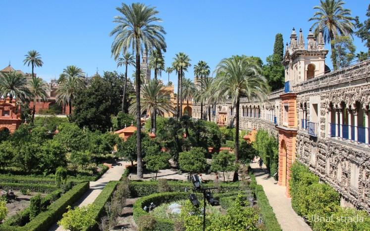 Espanha - Sevilha - Real Alcazar - Jardin de Carlos V