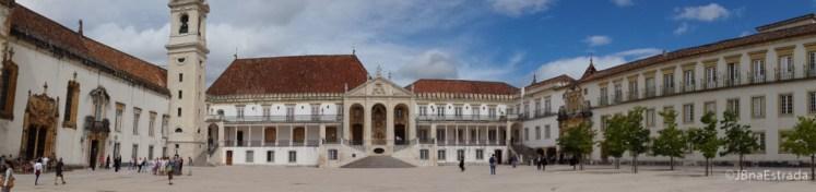 Portugal - Coimbra - Universidade de Coimbra - Paco das Escolas