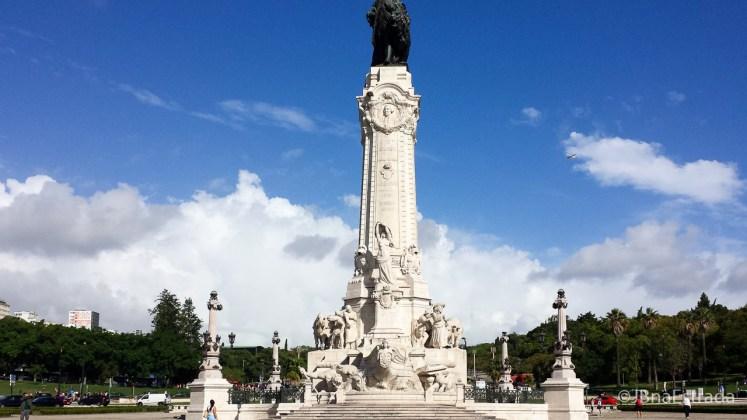 Portugal - Lisboa - Praca Marques de Pombal
