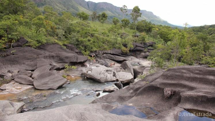 Brasil - Goias - Chapada dos Veadeiros - Vale da Lua - Piscinas Naturais