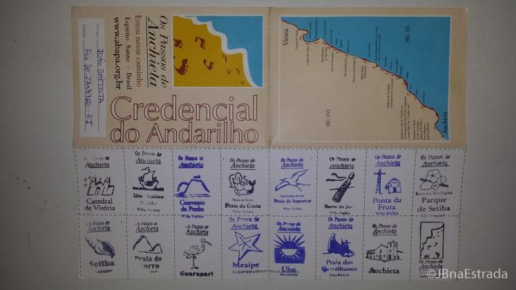 Brasil - Espirito Santo - Os Passos de Anchieta - Credencial