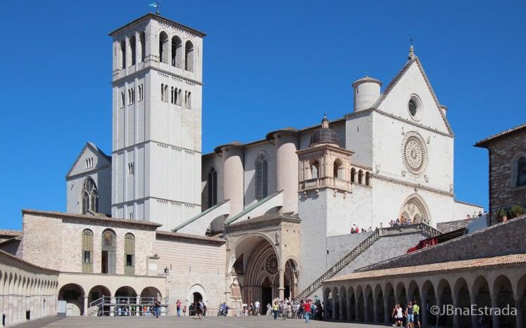 Italia - Assis - Basilica de Sao Francisco de Assis