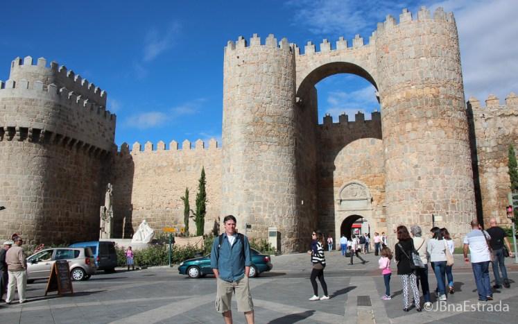 Espanha - Avila - Muralhas