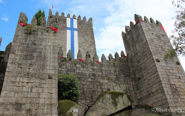 Portugal - Guimaraes - Castelo de Guimaraes