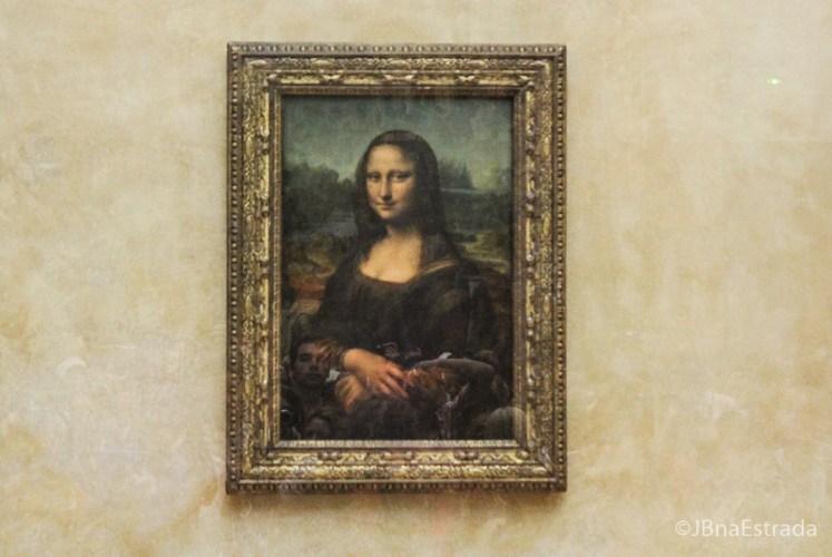 Franca - Paris - Museu do Louvre - Pinturas Italianas Monalisa