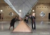 Franca - Paris - Museu do Louvre - Piramide Invertida