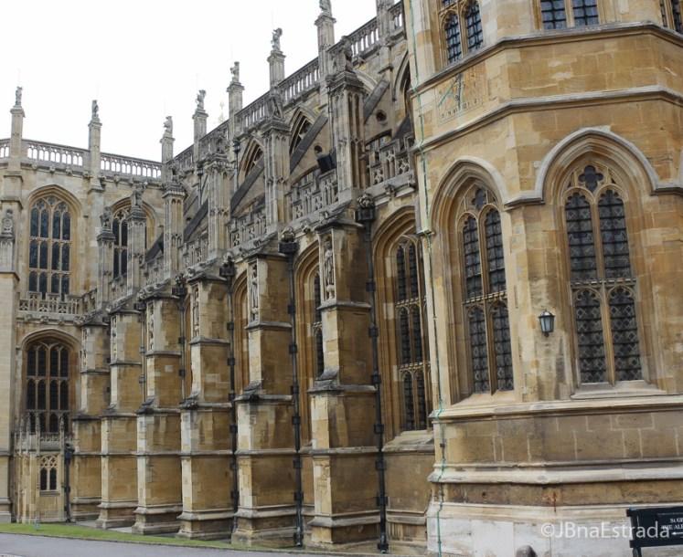 Inglaterra - Windsor - Castelo de Windsor - Capela de Sao Jorge