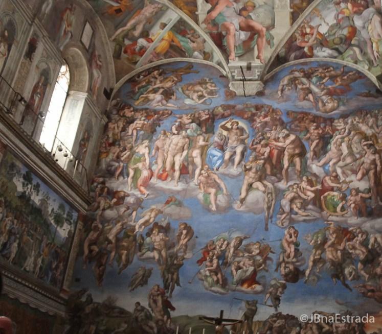 Museus Vaticanos - Capela Sistina - Juizo Final