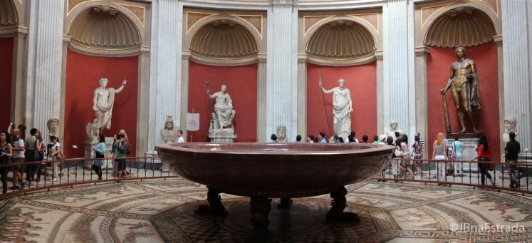Museus Vaticanos - Museu Pio Clementino - Sala da Rotonda