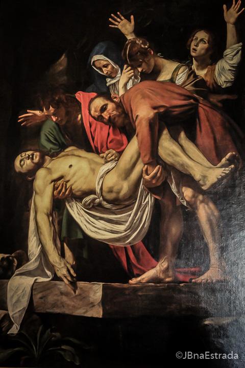 Museus do Vaticano - Pinacoteca - Caravagio- Deposizione
