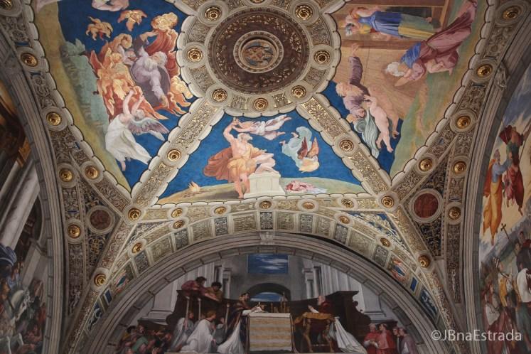 Museus do Vaticano - Salas de Rafael - Sala de Heliodoro - A Santa Missa