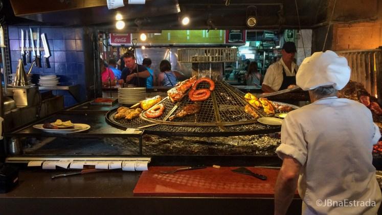 Uruguai - Montevideu - Mercado del Porto - Restaurante El Palenque