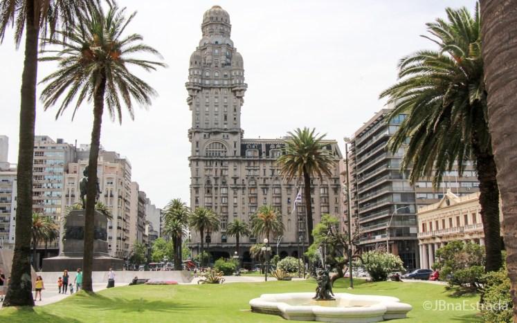 Uruguai - Montevideu - Plaza Independencia - Palacio Salvo