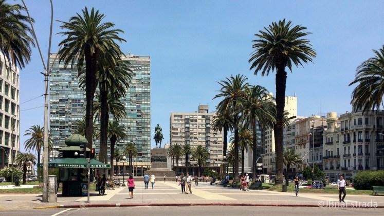 Uruguai - Montevideu - Plaza Independencia
