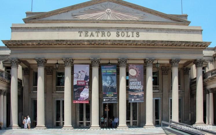 Uruguai - Montevideu - Teatro Solis