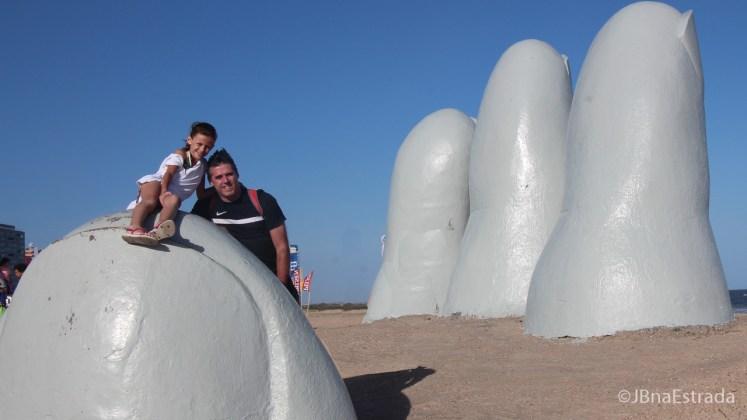 Uruguai - Punta del Este - Playa Brava - Monumento Los Dedos