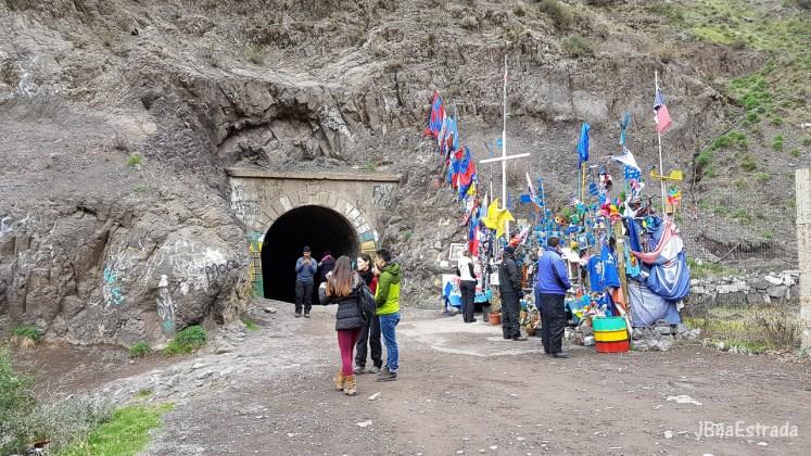 Chile - San Jose de Maipo - Tunel El Tinoco