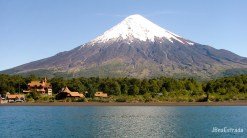 Chile - Cruce de Lagos - Lago Todos los Santos - Vulcao Osorno