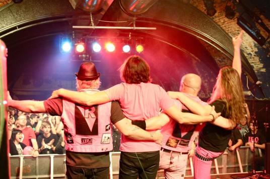 J.B.O. im Rockhouse Salzburg am 25.11.2011. Foto: Carsten Dobschat.